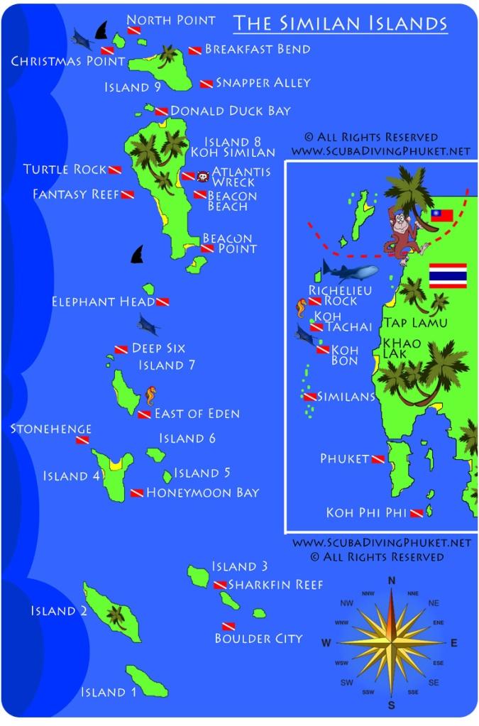 Thailande Les 206 Les Similan Un Tr 233 Sor De La Mer D Andaman